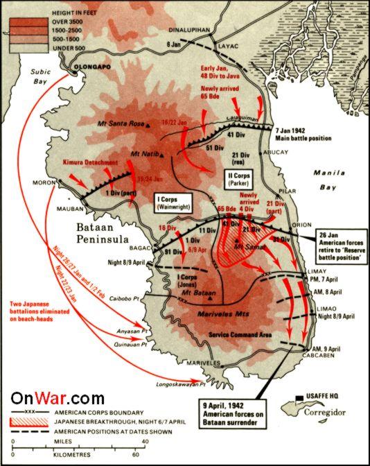 japan och usa andra världskriget